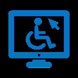 לוגו נגישות האתר